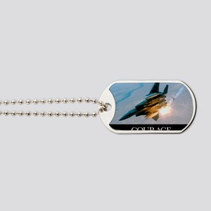Military Poster: An F-15E Strike Eagle po Dog Tags