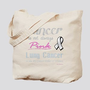Cancer is Not Always Pink! Tote Bag