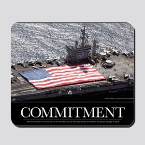 Military Poster: Personnel participate i Mousepad