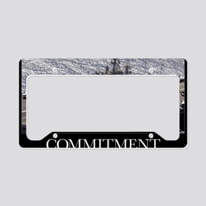 Military Poster: Personnel pa License Plate Holder