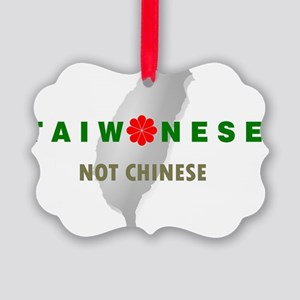 TaiwaneseNotChinese_IslandMap Picture Ornament