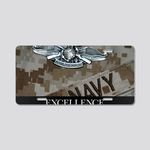 US Navy Poster : The Fleet  Aluminum License Plate