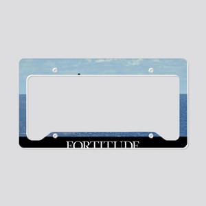 Motivational Poster: An F/A-1 License Plate Holder