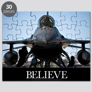 Air Force Poster: U.S. Air Force crew chief Puzzle