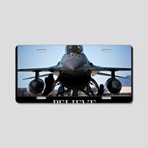 Air Force Poster: U.S. Air  Aluminum License Plate