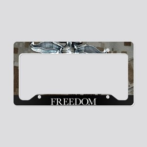 US Navy Poster : The Fleet Ma License Plate Holder