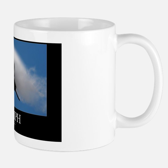 Air Force Poster: It is the one who end Mug