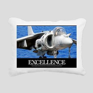 Air Force Poster: Excell Rectangular Canvas Pillow
