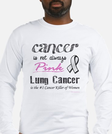 Cancer is Not Always Pink! Long Sleeve T-Shirt