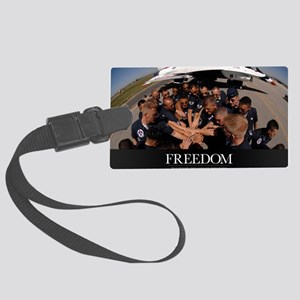 Air Force Poster: Air Force Thun Large Luggage Tag