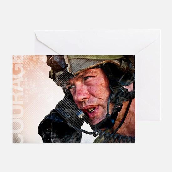 Air Force Grunge Poster: Loyalty. U. Greeting Card