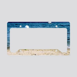 Sail Away License Plate Holder