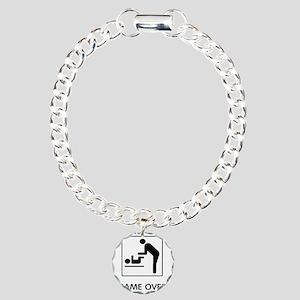 gameov Charm Bracelet, One Charm