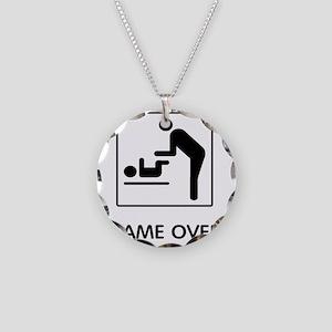 gameov Necklace Circle Charm