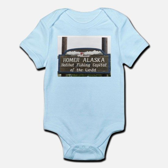 Homer Alaska Sign Body Suit