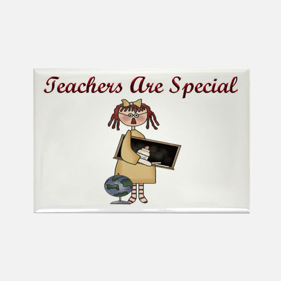 Teacher's Are Special Rectangle Magnet