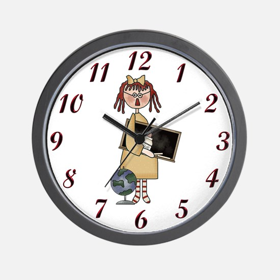 Teacher's Are Special Wall Clock