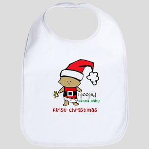 Customize Baby's First Christmas Bib