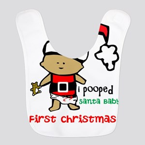 Customize Baby's First Christmas Bib