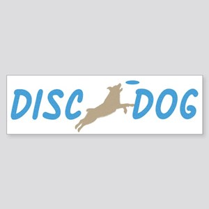Disc Dog (3) Bumper Sticker