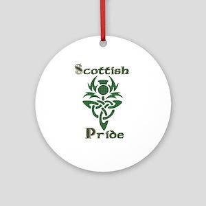 Scottish Pride Ornament (Round)