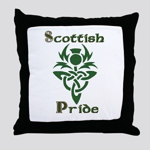 Scottish Pride Throw Pillow