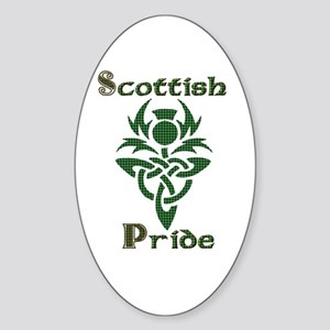 Scottish Pride Oval Sticker