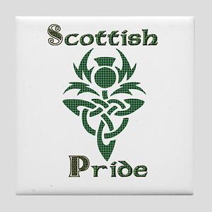 Scottish Pride Tile Coaster