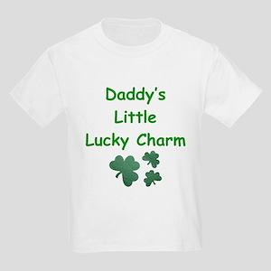 Daddy's Little Lucky Charm Kids T-Shirt