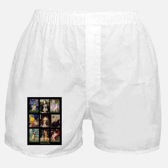 Yellow Lab Famous Composite-V Boxer Shorts