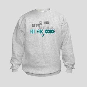 Go For Broke Kids Sweatshirt