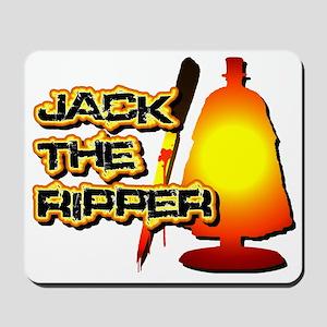 Jack the Ripper in Orange Mousepad