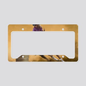 Barrel Racing License Plate Holder