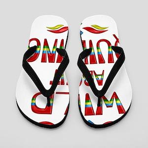 Wild About Quilting Flip Flops