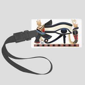 Eye of Horus Large Luggage Tag