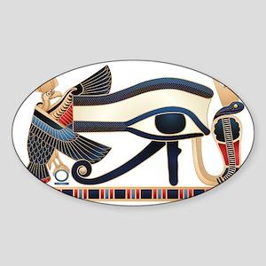 Eye of Horus Sticker (Oval)