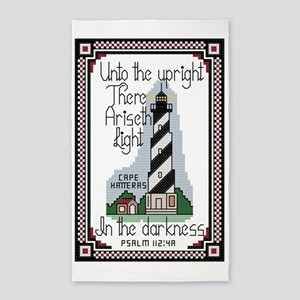Cape Hatteras Lighthouse, North Car 3'x5' Area Rug