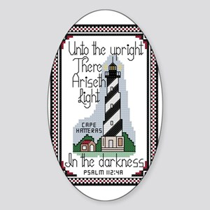 Cape Hatteras Lighthouse, North Car Sticker (Oval)