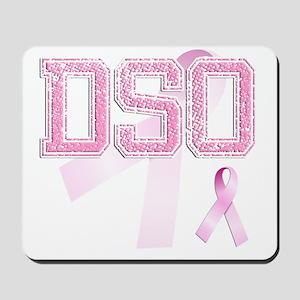 DSO initials, Pink Ribbon, Mousepad