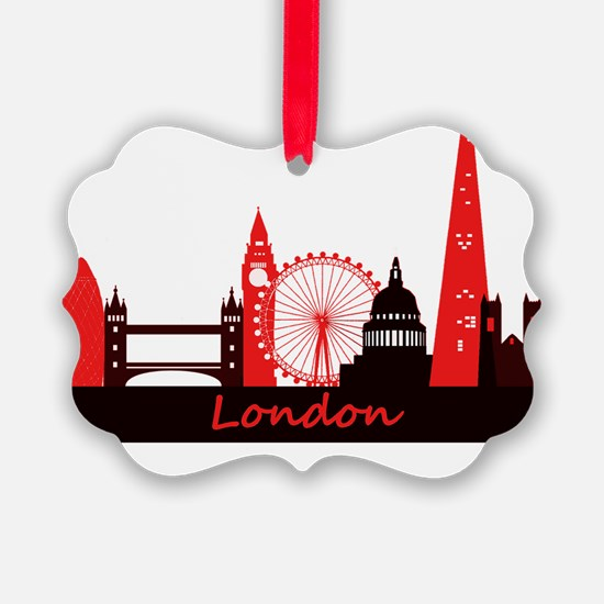 London landmarks tee 3cp Ornament