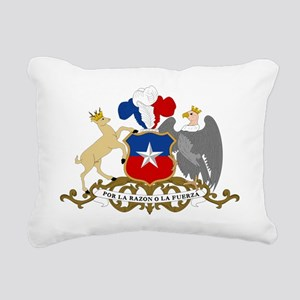 Chile  Coat of Arms Rectangular Canvas Pillow