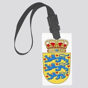 Denmark  Coat of Arms Large Luggage Tag