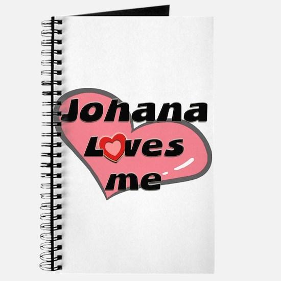 johana loves me Journal