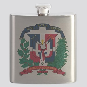 Dominican   Coat of Arms Flask