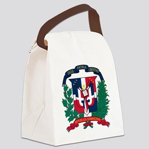 Dominican   Coat of Arms Canvas Lunch Bag