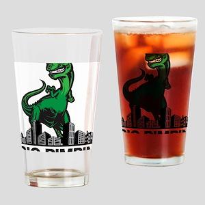 godzilla Drinking Glass