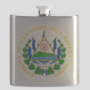 El Salvador  Coat of Arms Flask
