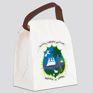 Liberia  Coat of Arms Canvas Lunch Bag