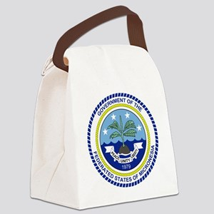 Micronesia  Coat of Arms Canvas Lunch Bag