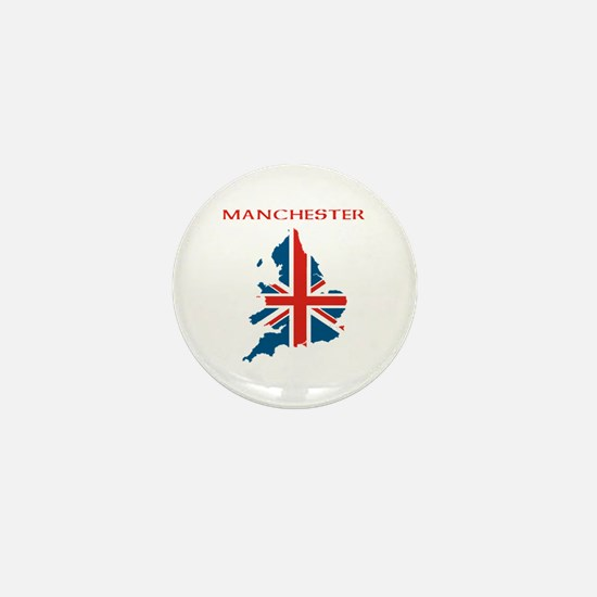 Funny Manchester Mini Button